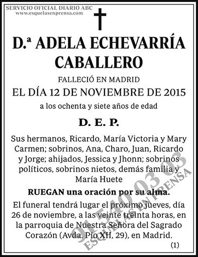 Adela Echevarría Caballero